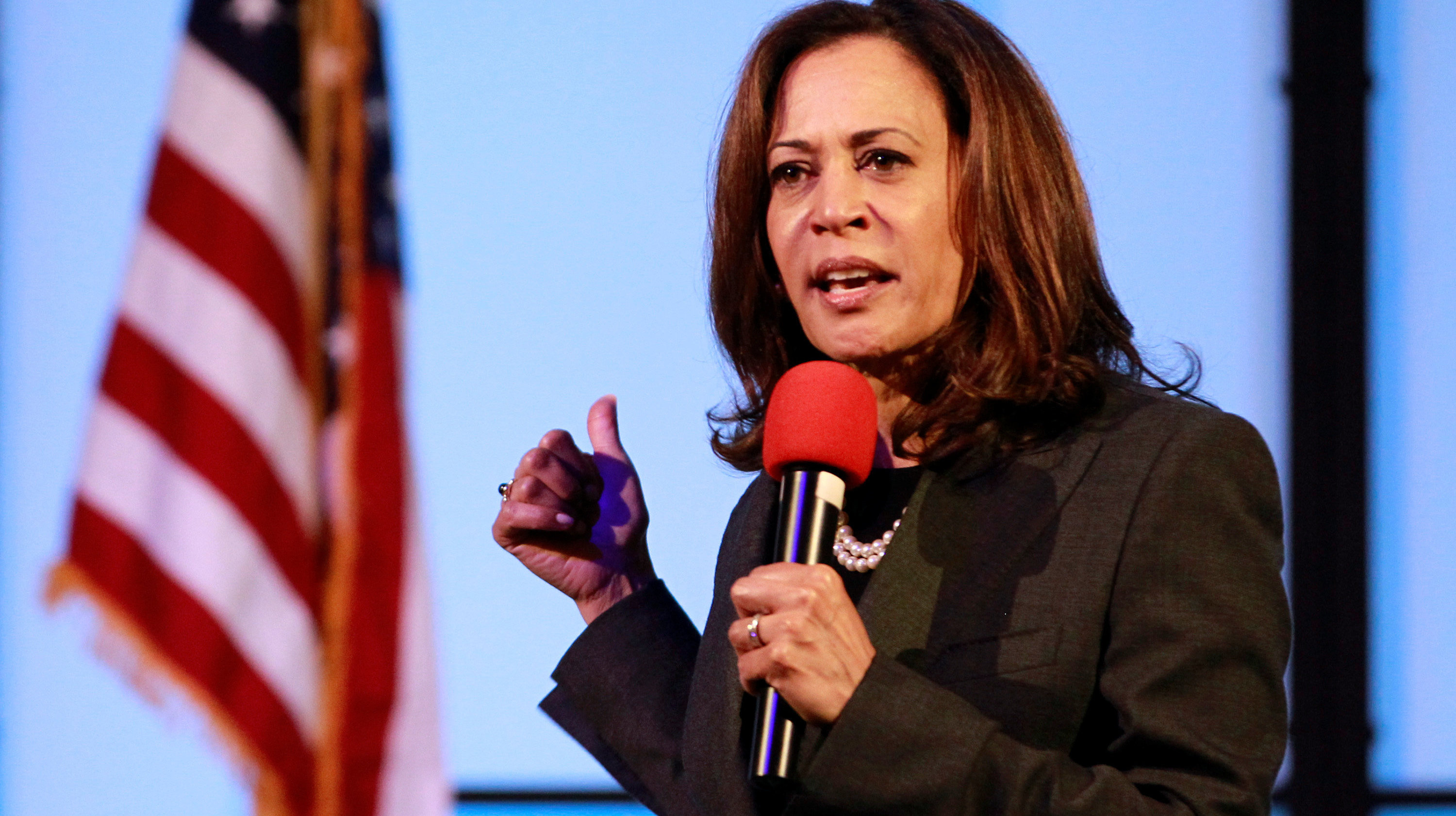 Kamala Harris Says Congress Needs To Change ICE, Perhaps 'Start From Scratch'