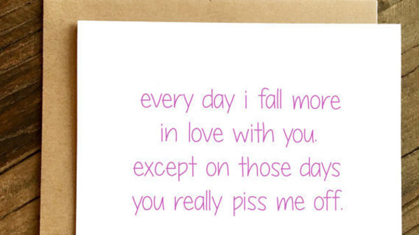 28 Funny Valentine's Day Cards For Couples Who Don't Like Sappy Stuff