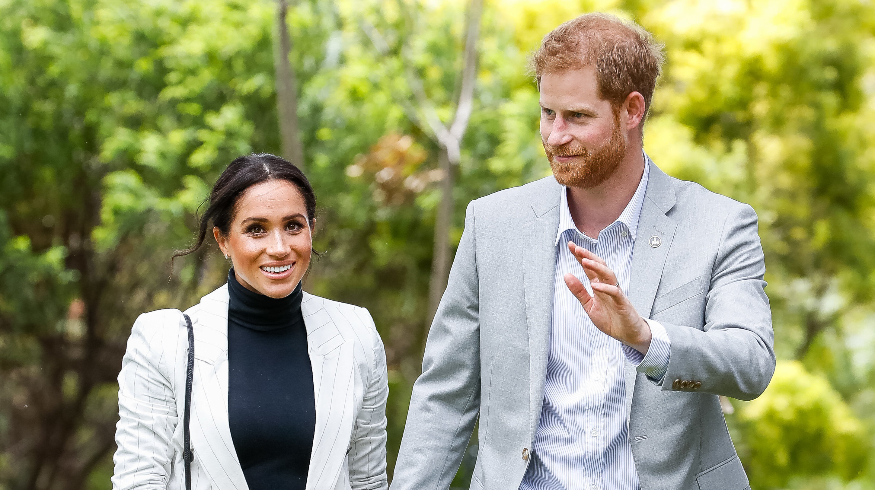 Prince Harry Flies Solo In Sydney As Meghan Markle's Schedule Is Cut Back