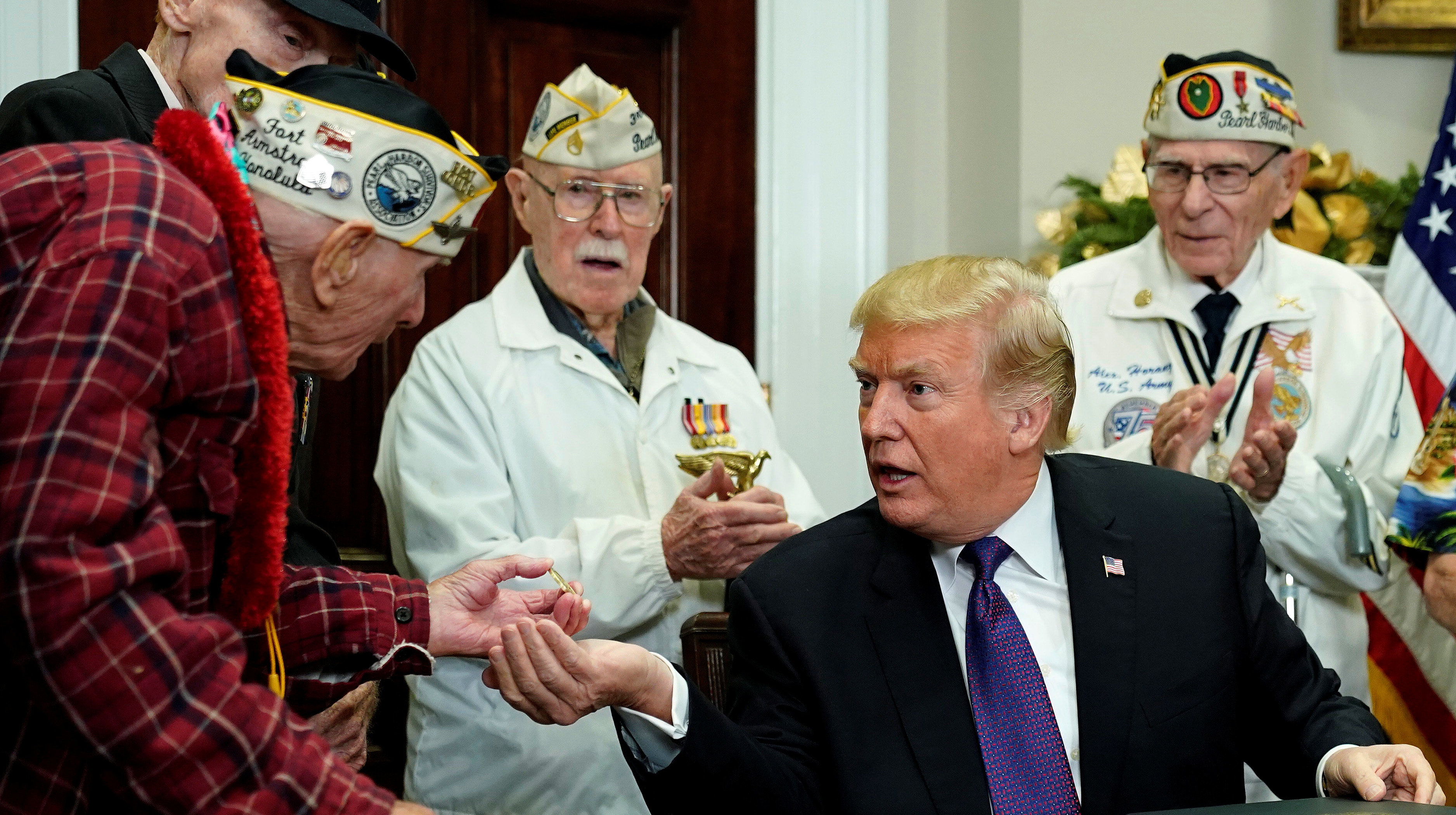Another Trumpism For The History Books: Pearl Harbor Was 'A Pretty Wild Scene'