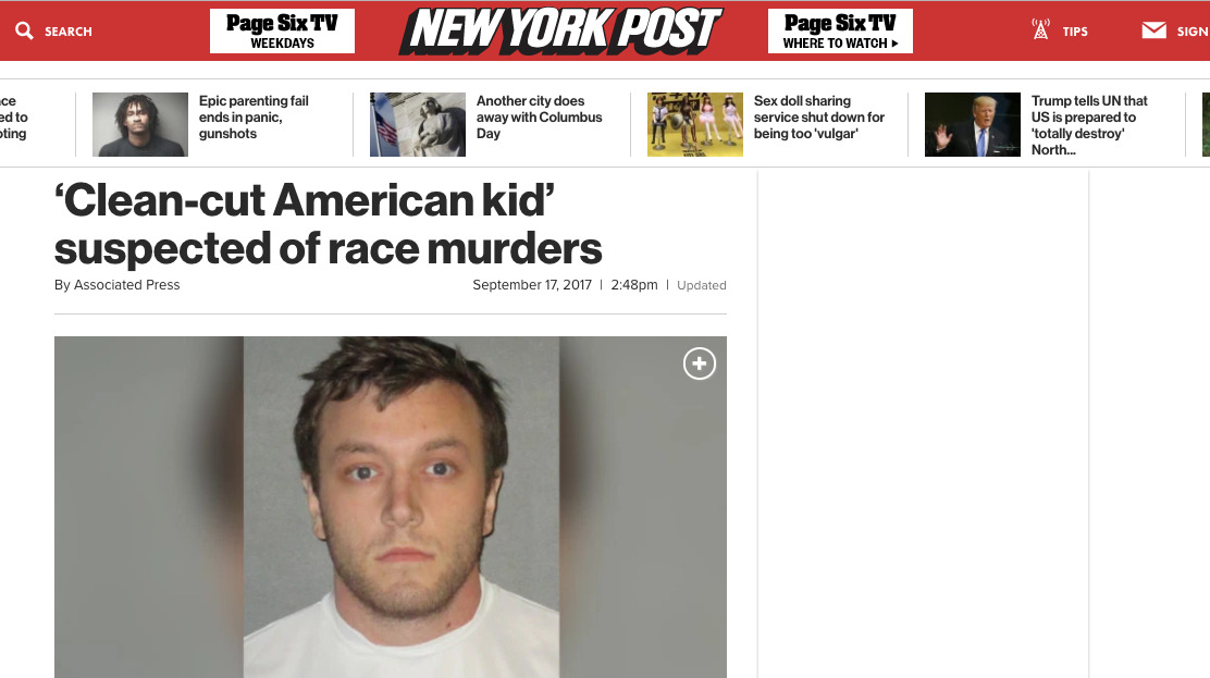 When The Media Treat White Suspects And Killers Better Than Black Victims