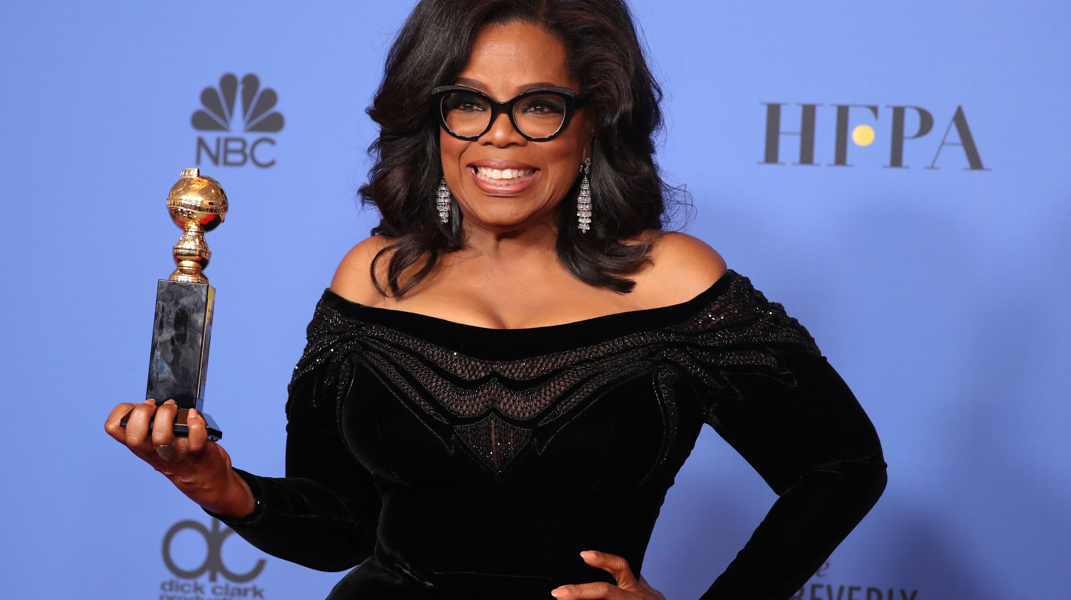 Monday's Morning Email: Oprah's Rousing Golden Globes Speech Sparks Chorus Of Calls For Oprah 2020