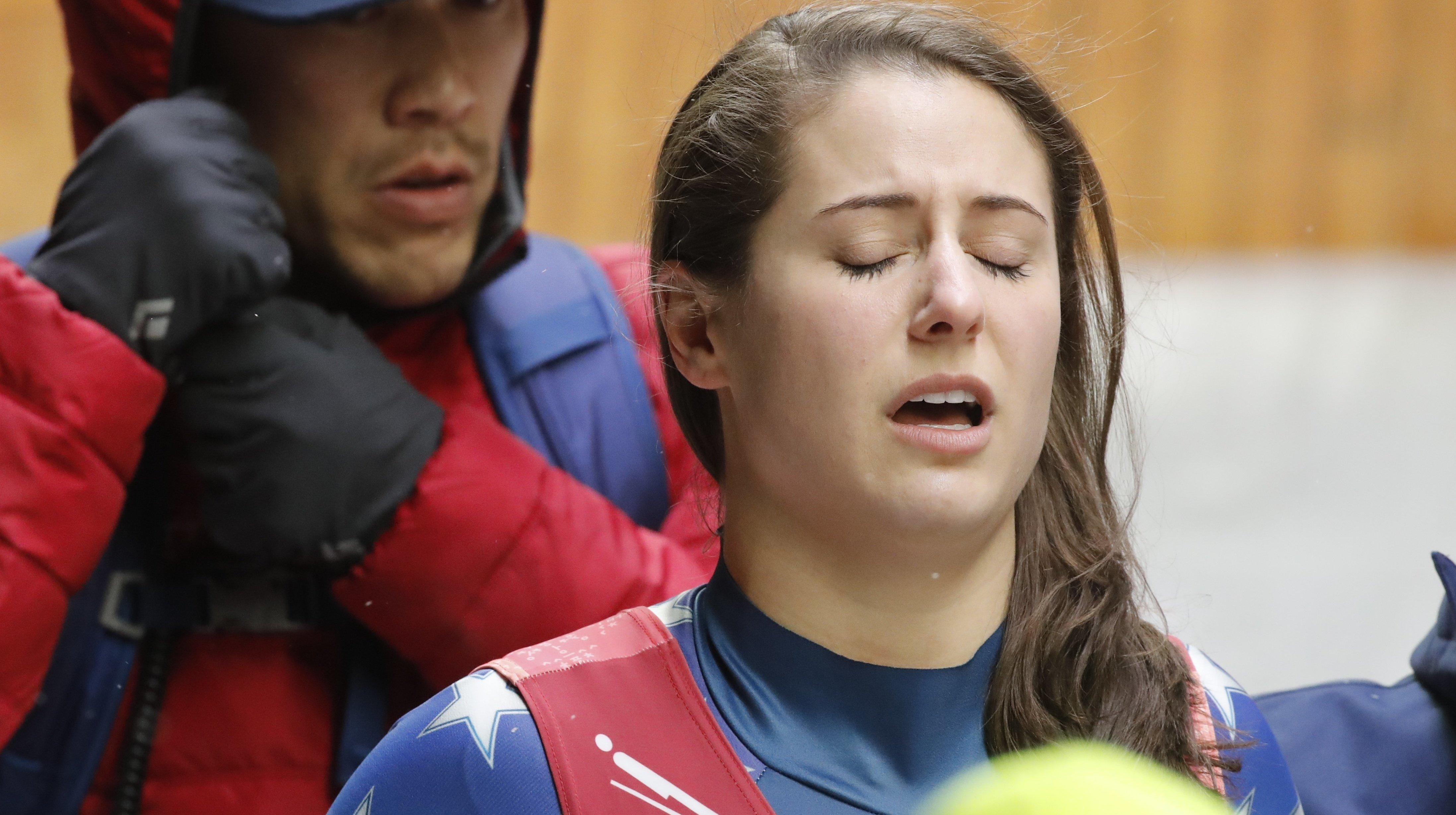 U.S. Luger Emily Sweeney Wipes Out In Dramatic Olympics Crash