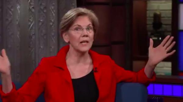 Elizabeth Warren: Donald Trump's 'Racist Slurs' Won't Shut Me Up