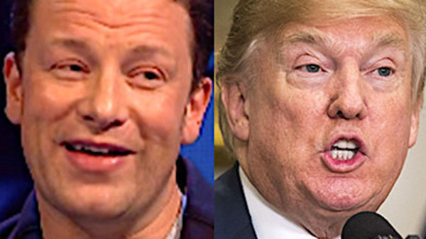 Jamie Oliver Says He'd Do This Disgusting Thing If He Had To Cook For Donald Trump