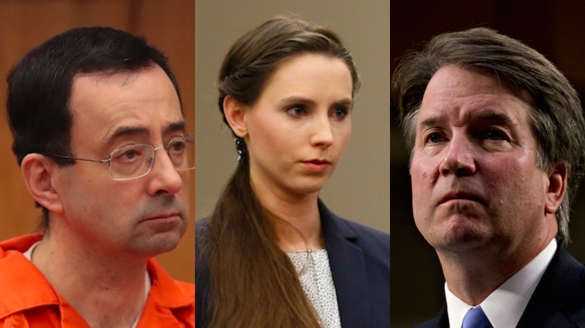 Larry Nassar's First Accuser Demands We Do Better With Brett Kavanaugh Allegations