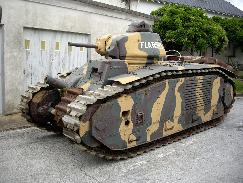 France's Monstrous Char B1 Tank Ate Hitler's Best Tanks for Breakfast