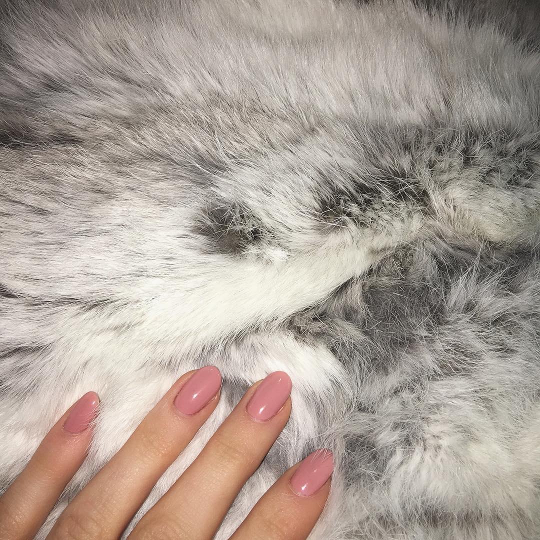 Kylie Jenner Natural Nails