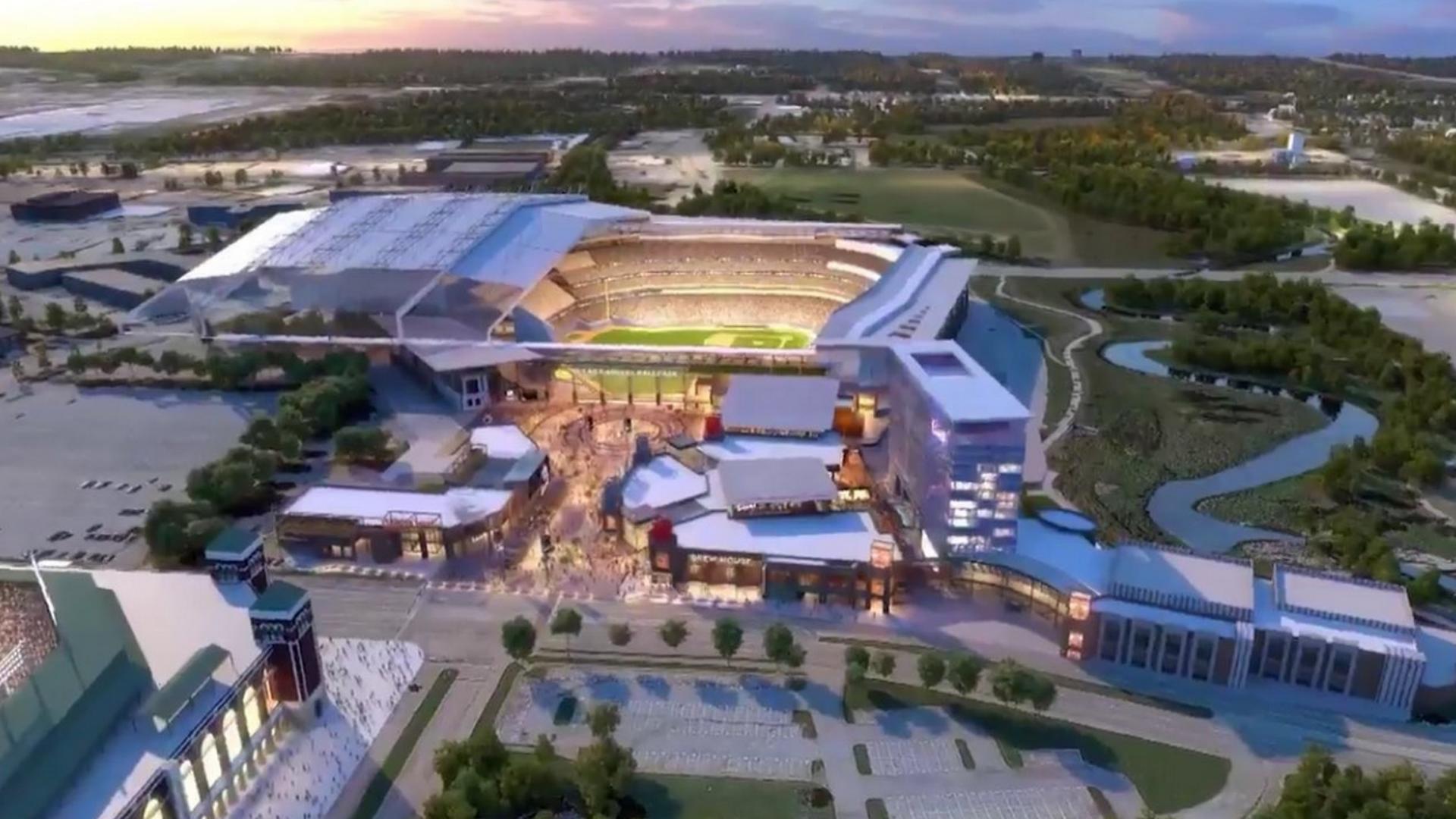 Voters OK public money for new Texas Rangers ballpark