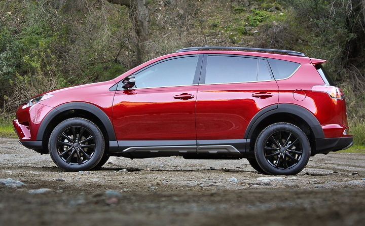 2018 toyota rav4 xle. contemporary toyota 2018 toyota rav4 adventure side profile photo throughout toyota rav4 xle 4