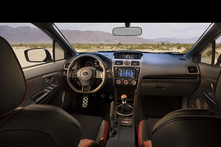 2018 Subaru WRX STI interior photo