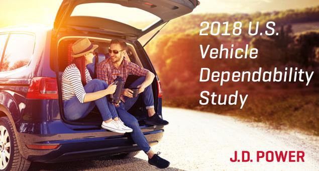 2018 U.S. Vehicle Dependability Study