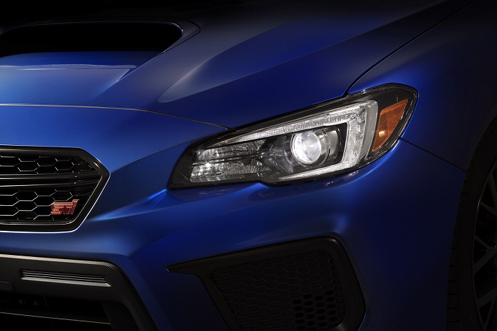 2018 Subaru WRX STI headlight photo