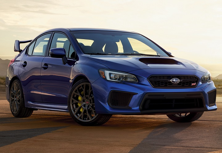 2018 Subaru WRX STI front quarter right photo