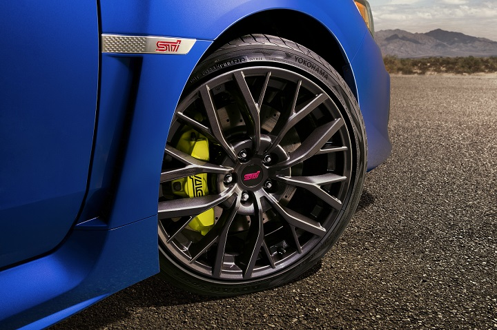 2018 Subaru WRX STI wheel photo