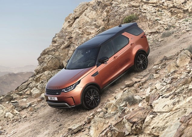 2017 Land Rover Discovery Preview
