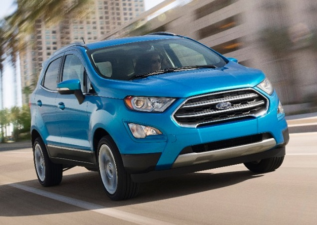 Ford Ecosport Front Quarter Right Motion Photo