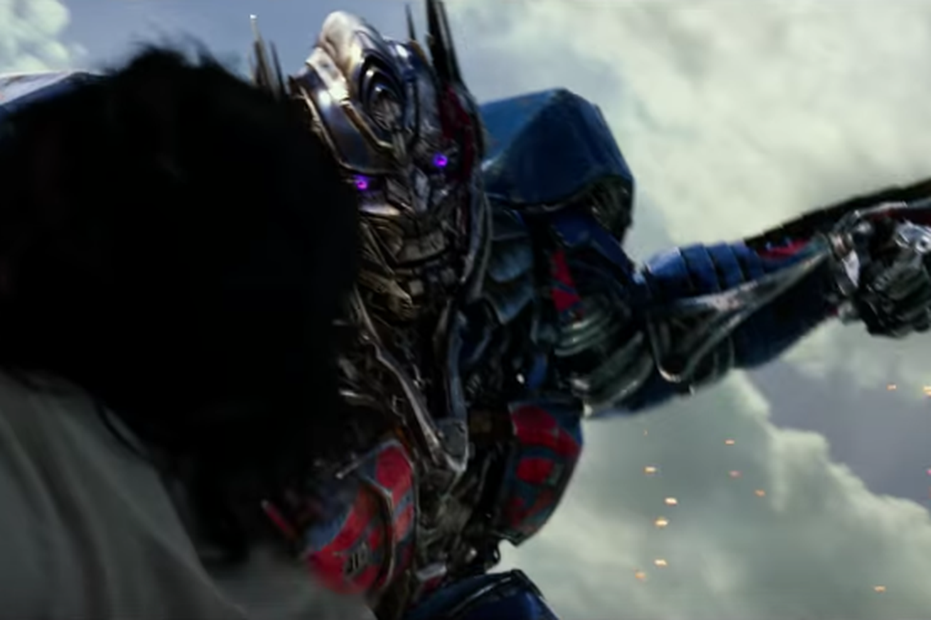 In the first Transformers: The Last Knight trailer, Optimus Prime goes rogue
