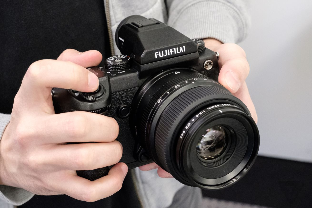 Fujifilm's first medium-format mirrorless camera arrives next month