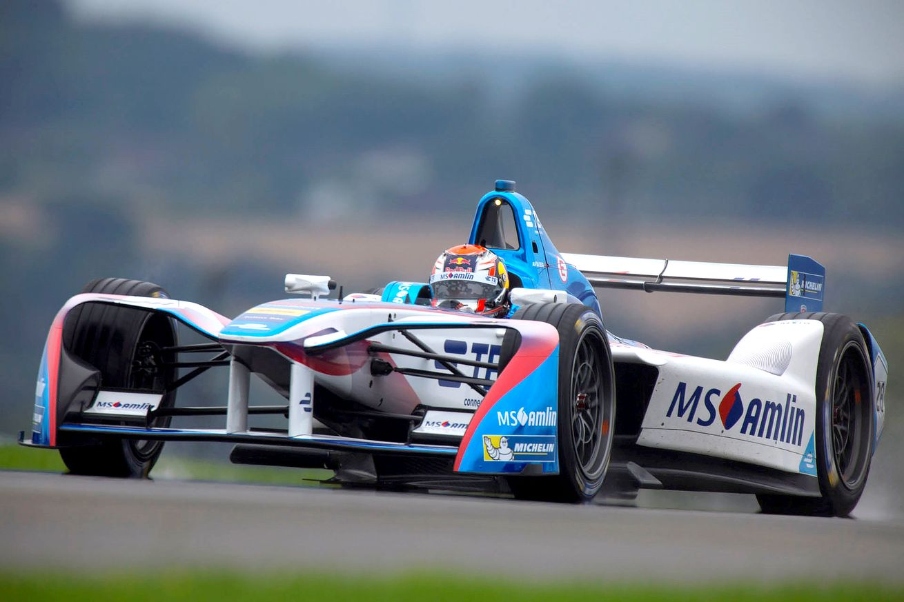 BMW partners with the Andretti Formula E team