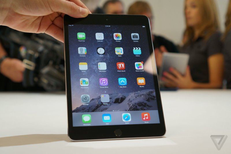 Squeezed out: as the iPhone gets bigger in size and sales, the iPad keeps slumping