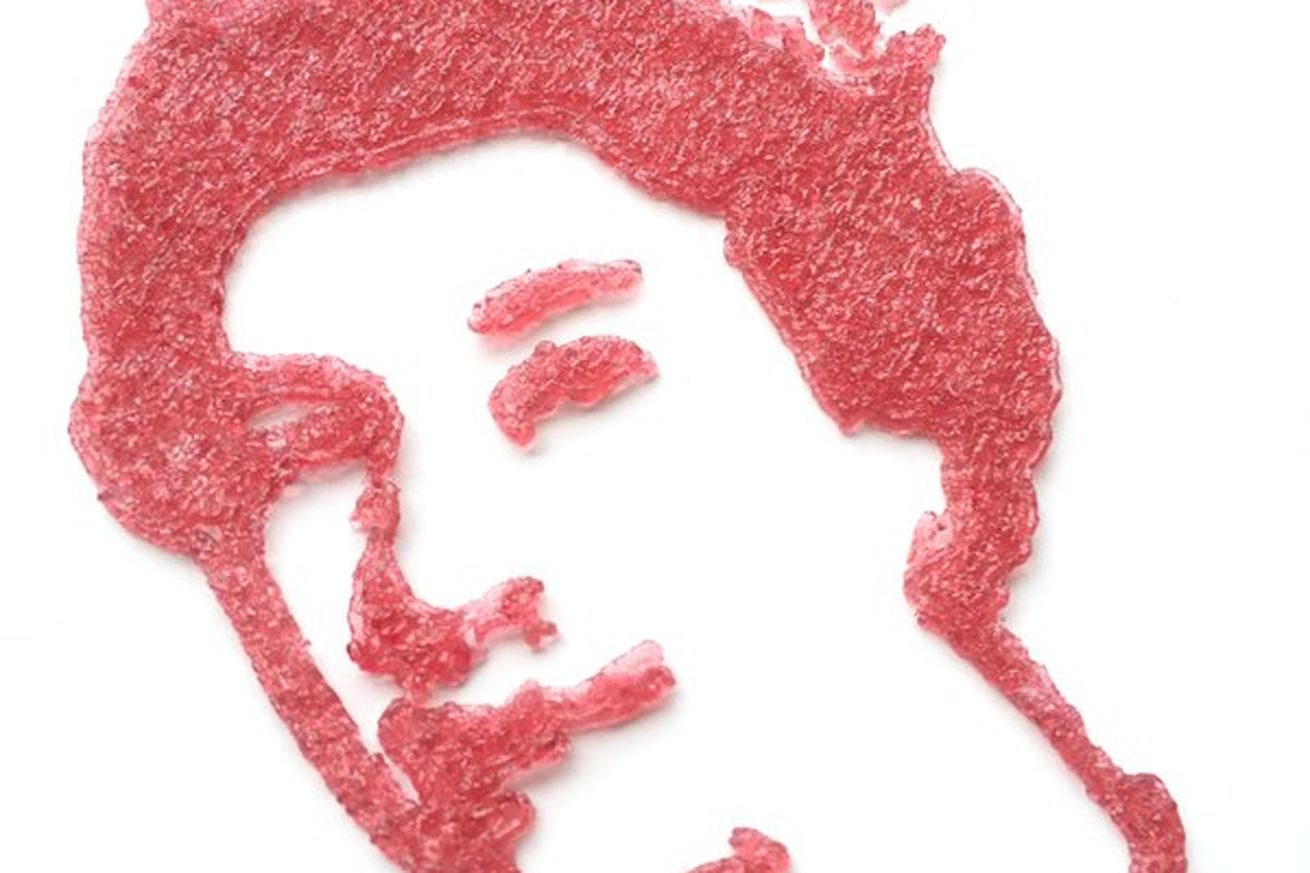 3D print a gummy version of your face and eat it