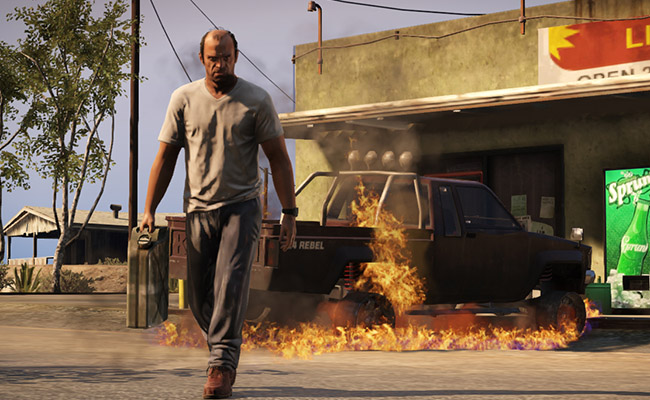 'Grand Theft Auto V' Is Training Self-Driving Cars, Which Seems Like A Terrible Idea