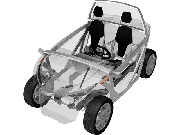 The project that wants to bring an open source, print-at-home connected car to a road near you