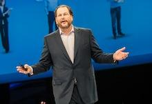 Salesforce.com's Marc Benioff talks SAP, Oracle and Microsoft at Box Dev Day