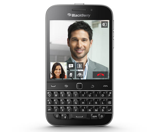BlackBerry Classic arrives touting what's old is new again