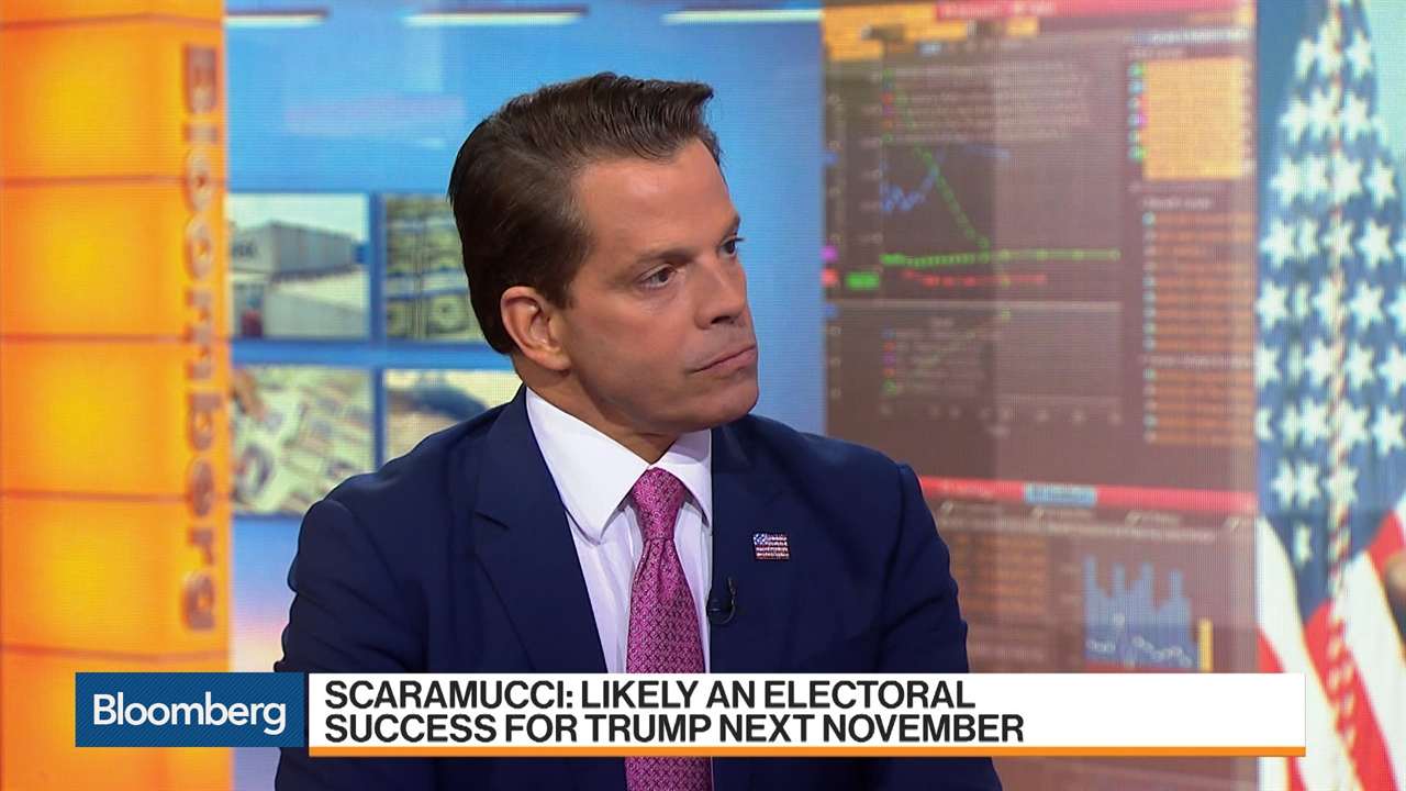 Scaramucci Says He Won't Vote for Trump, GOP May Need Substitute