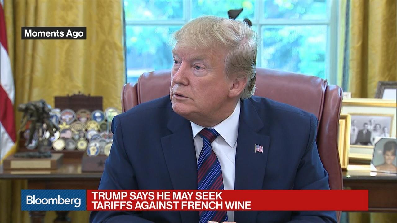 Paris Digs in on Digital Tax as Trump Floats Wine Tariffs