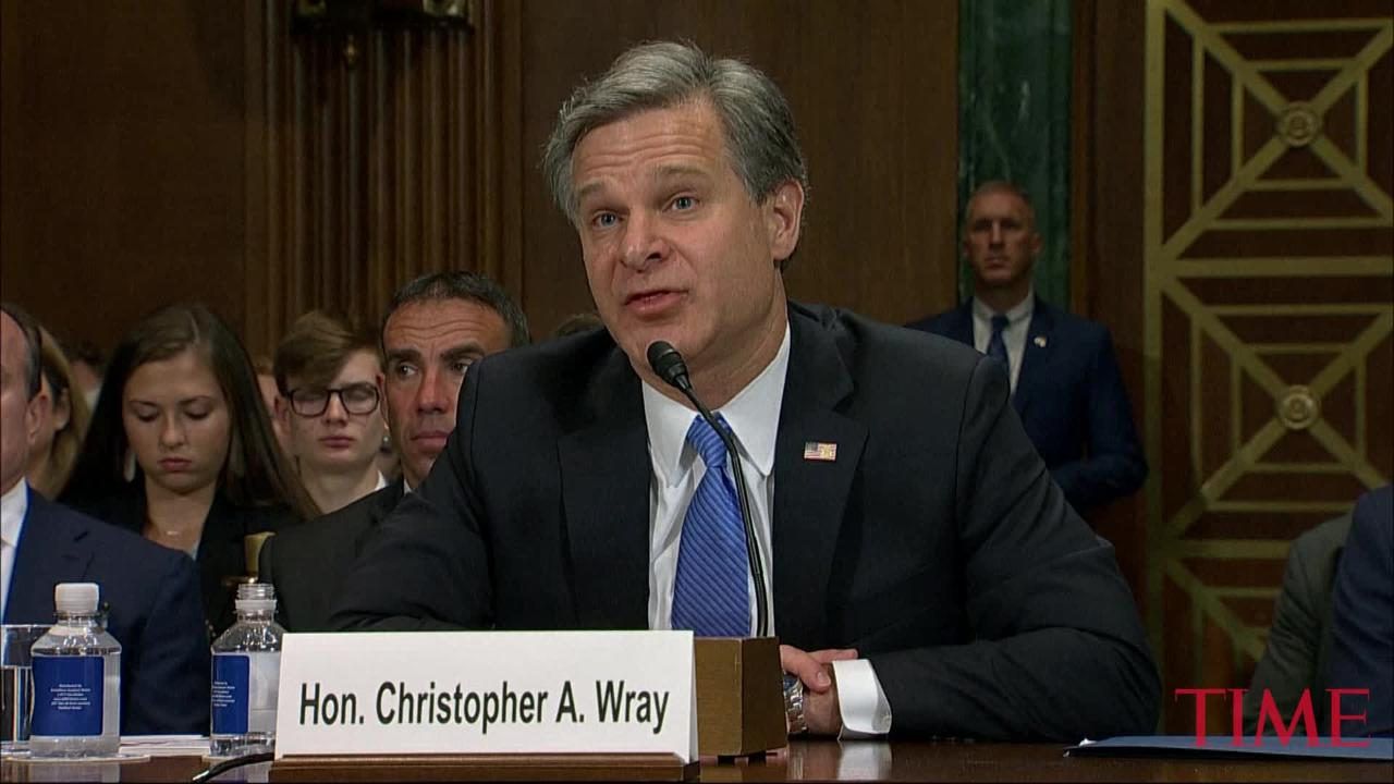 FBI Chief Says Chinas Trying to `Steal Their Way to Dominance