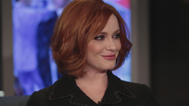 Christina Hendricks Reveals How She Met Her Husband