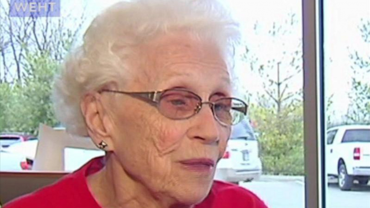 94-year-old Loraine Maurer has worked at McDonald's for 44 years