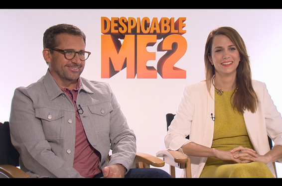 'Despicable Me 2': Steve Carell and Kristen Wiig Laugh It Up