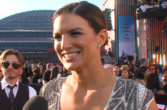 'Fast and Furious 6' Premiere: Gina Carano Talks Unleashing Her Mixed-Martial-Arts On Michelle Rodriguez