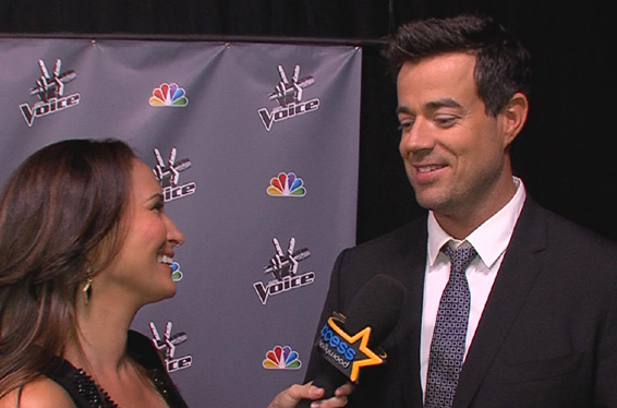 'The Voice': Carson Daly Talks Eliminations and Christina Aguilera's Return