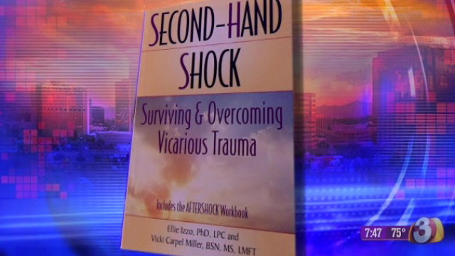 Second-hand shock may cause problems for first-responders in a crisis