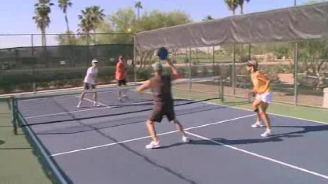 Funny name; serious game! Pickleball gains popularity