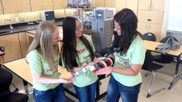 Shadle students competing in national engineering competition