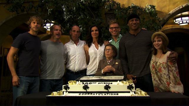 "The ""NCIS: LA"" team celebrates 100 episodes"
