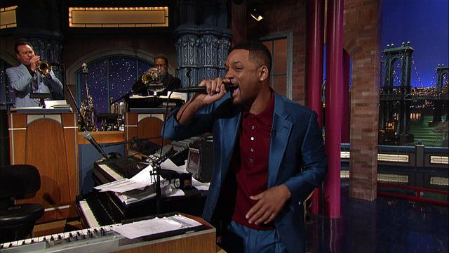 David Letterman - Will Smith's Impromptu Rap