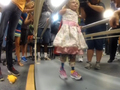 Girl who lost feet in lawnmower accident walks again