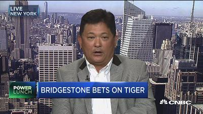 Bridgestone bets on Tiger