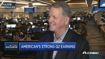 American Airlines CEO Doug Parker: We're fighting like cr...