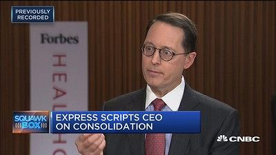 Express Scripts CEO: Pharmacy-benefit manager model never...