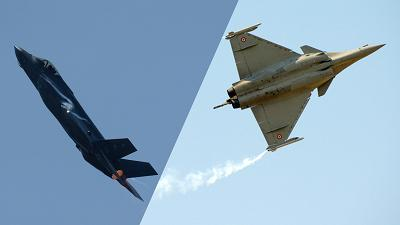 F-35 vs Rafale: The battle for fighter jet supremacy