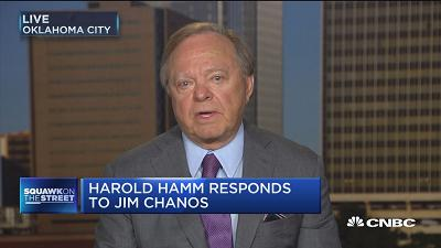 Harold Hamm: Over-forecasting of EIA numbers is concernin...