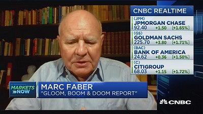 Marc Faber: There will be another 'massive' financial cri...
